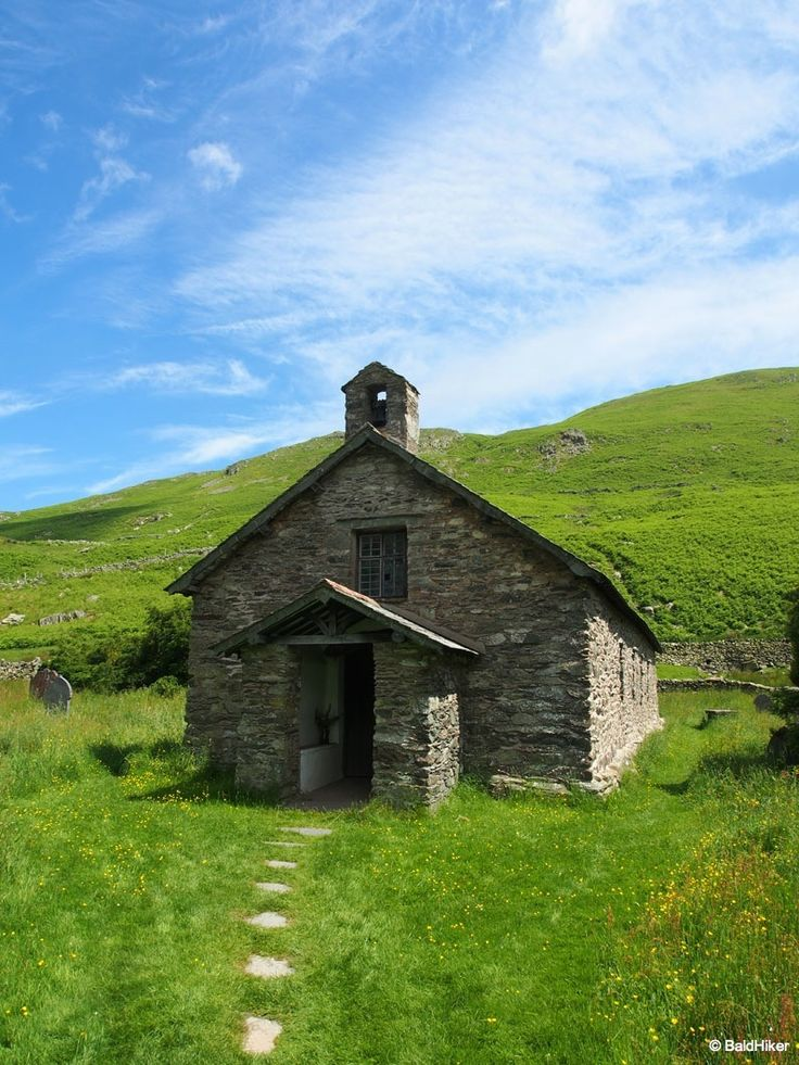 The old St Martins Church of Martindale, Cumbria (pics)