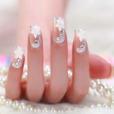 Uñas de novia ¡17 Increíbles diseños juveniles! - Somos Novias