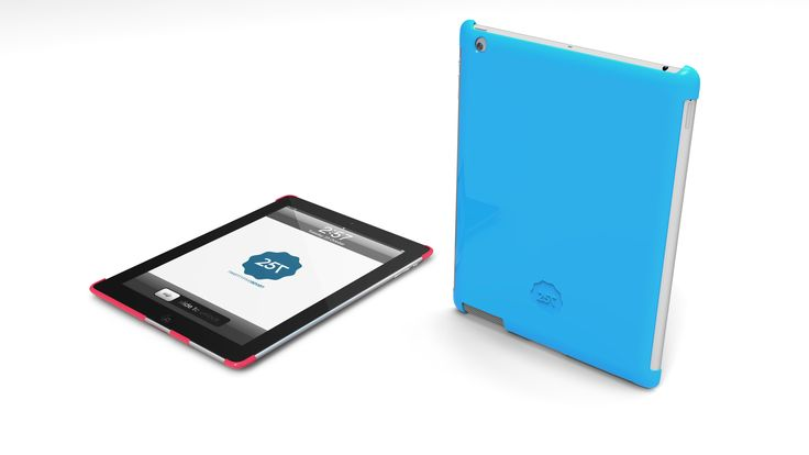 SLIM HARD CASE -  A hard case for iPad and iPad mini with classic design. Available in many colors and designs.  http://www.twentyfive-seven.com/