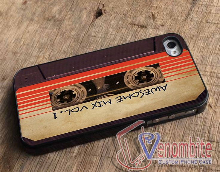 Guardians of The Galaxy Awesome Mix Vol 1 Tape Recorder For iPhone 4/4s Cases, iPhone 5 Cases, iPhone 5S/5C Cases, iPhone 6 cases & Samsung Galaxy S2/S3/S4/S5 Cases