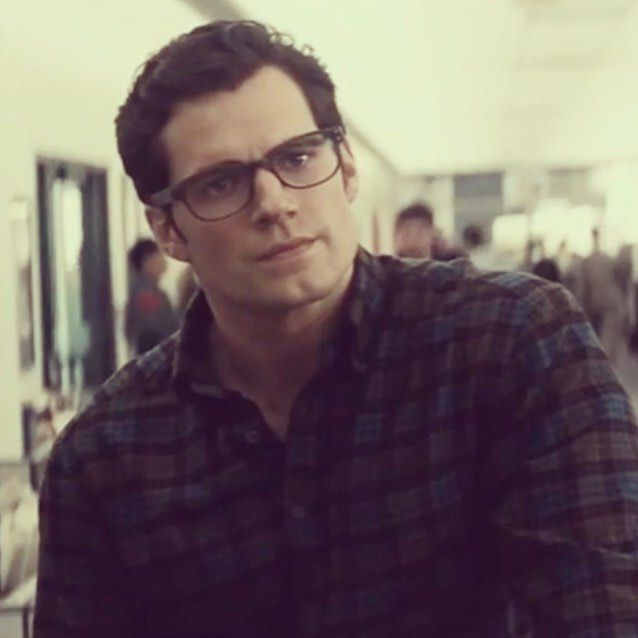 Henry Cavill as Clark Kent, yes please!