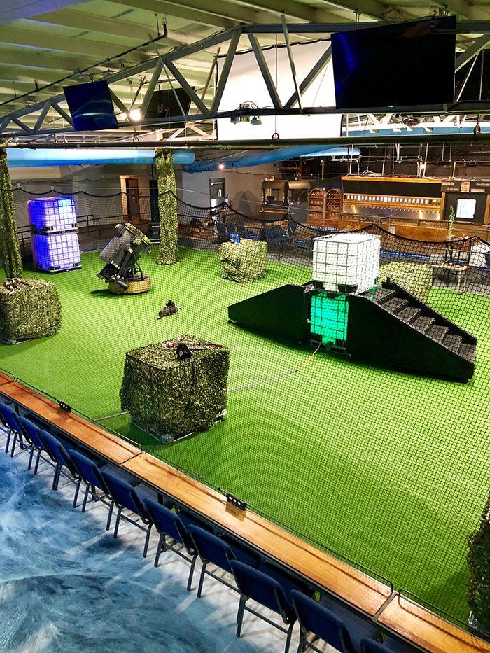 Go Inside Action Bar Named Coliseum V Opening September 19 Near Plaza Midwood Will Have Archery Tag And 22 Virtual Rea Archery Tag Archery Virtual Reality