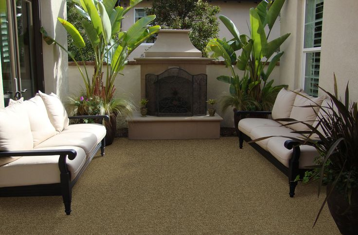 Ribbed Carpet Tiles  I  Residential Modular Carpet Tile  I  Excellent flooring solution for basement, man cave, sun room, and even on patios!