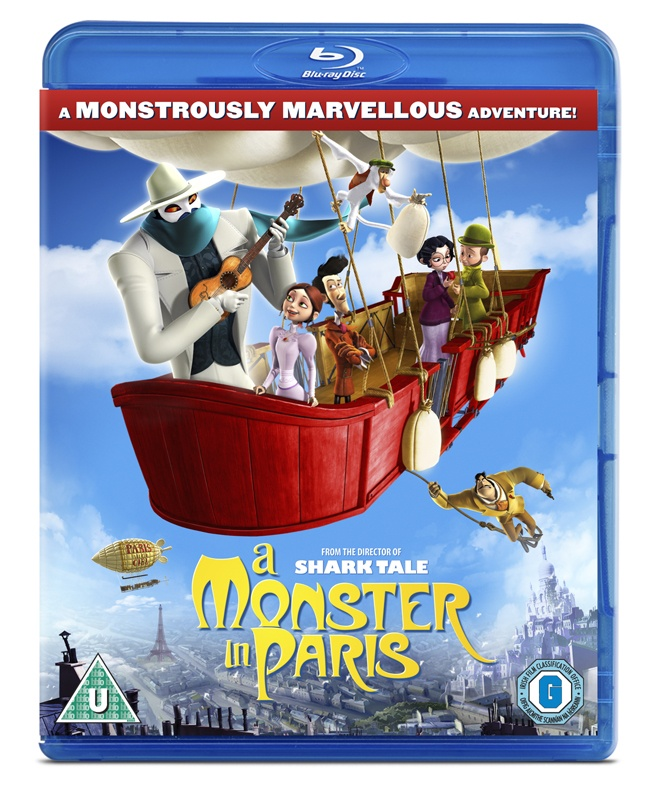 Re-pinning to win A Monster In Paris on DVD!