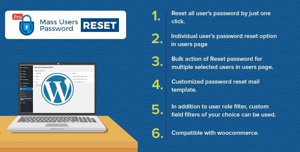 Mass Users Password Reset Pro