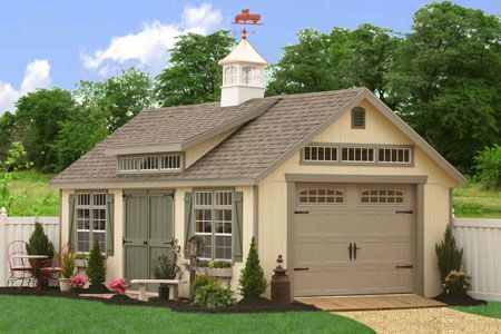Best Storage Sheds And Prefab Garages From Pa Prefab Garages 400 x 300