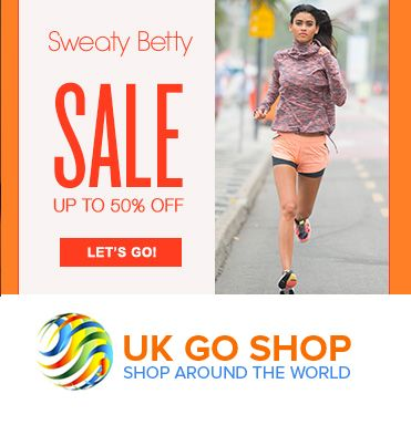 Stay fit and happy.. Sweaty Betty has evolved into a global multi-channel fitness fashion brand. Its main motto is to inspire women to find empowerment through fitness. #sweatybetty #ukgoshop #coupounshopping #onlineshoppingUK