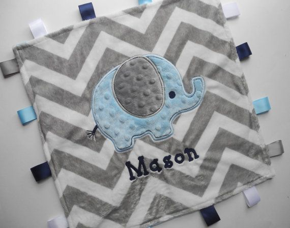 31 best the cherry cheetah images on pinterest personalised baby personalized baby blanket elephant baby minky by thecherrycheetahs 2299 negle Gallery