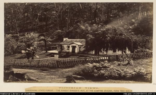 Ranger's hut, in Ferntree Gully National Park