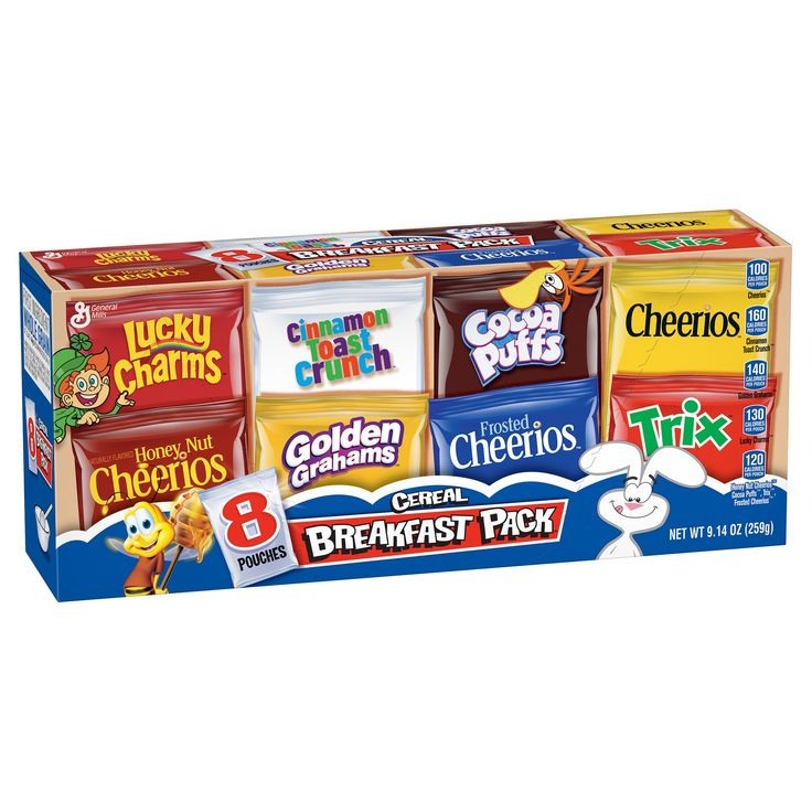 Breakfast Pack Cereal - 9.14 oz - General Mills