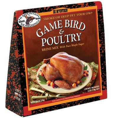 HI MOUNTAIN GAME BIRD & POULTRY BRINE