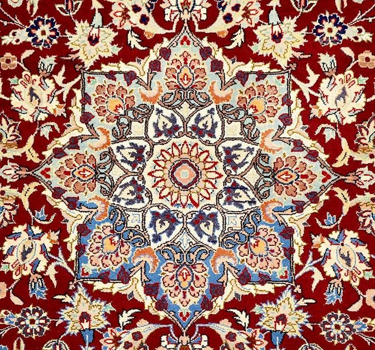 This Vintage Isfahan Rug truly is the star of the show! ❤❤ #vintage #isfahan #rug #rugs #star #persianrug #persian #design #traditional #silk #wool #floral #red #gold #ihavethisthingwithfloors #ihavethisthingwithrugs #interiors #interiordecor #intricate #fine #interiordesign #decor #decoration #handmade #sydney #designer