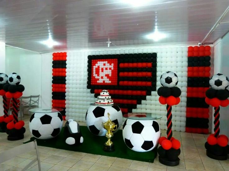 Soccer decoration