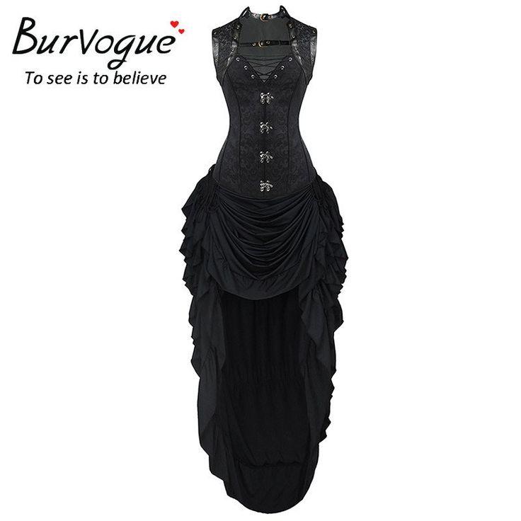 Burvogue Dobby Steampunk Corset Dress
