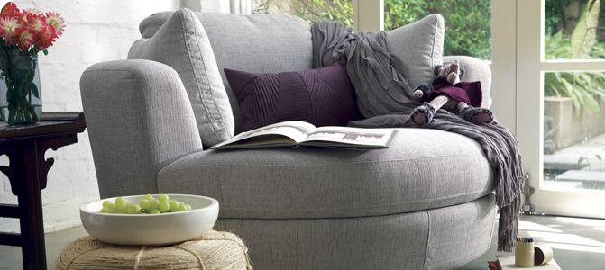 snuggle chair - I WANT!