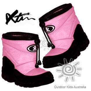 XTM Puddles Baby & Kids Winter Snow Boots (Light Pink)