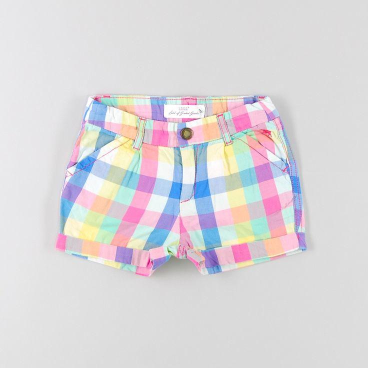 Shorts de cuadros