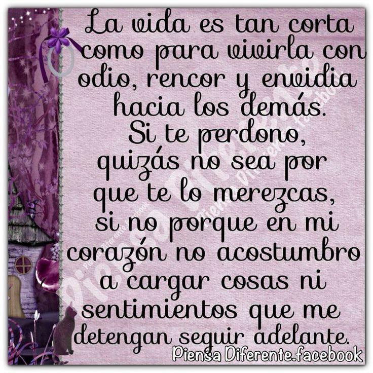 Si te perdono, quizás no sea por que te lo merezcas...