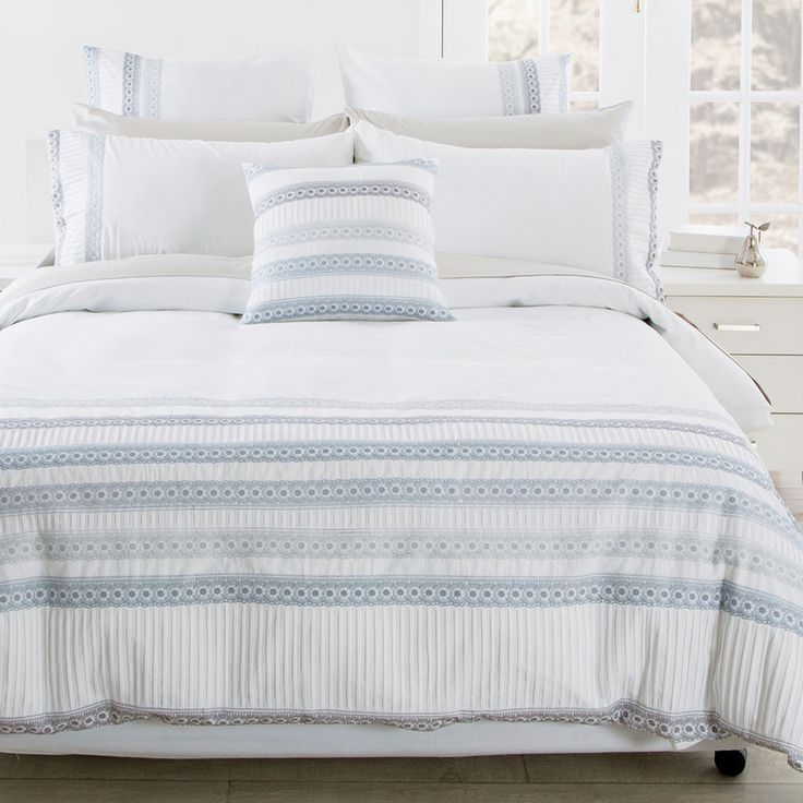 Super soft and cosy bed linens for a good night's sleep. Lots of colours, styles, materials and sizes. Available online and in-store at IKEA Australia.