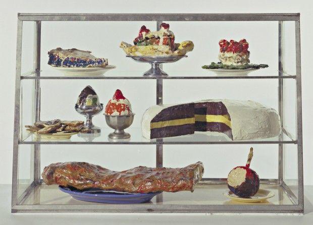 Vitrina pastelera I - Claes Oldenburg