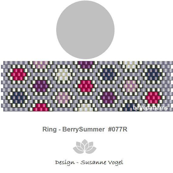 peyote ring patternPDF-Download 077R beading pattern