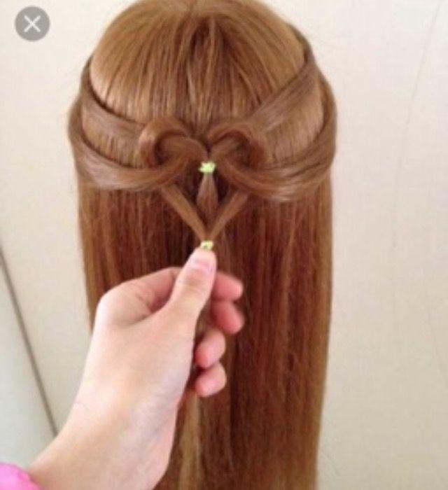 心の中の髪