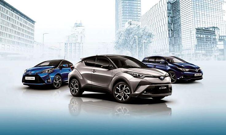 Gamma auto ibride #Toyota #hybrid