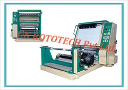 we have also developed inspection slitter rewinding machine that contains adjustable and programmed controls for many functions. For the proper rewind tensions it contains special tension control system. We are tagged as the leading manufacturer and supplier of inspection slitter rewinder machine. It is provided with safety chucks.