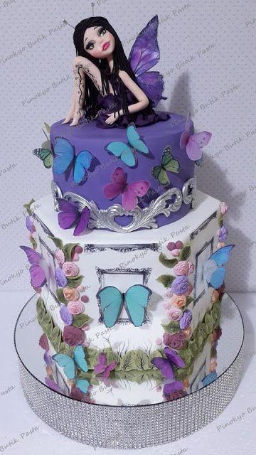 Pinokyo Butik Pasta ve Kurabiye - İzmit: Kelebek kız pastası...