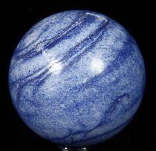 "2.0"" BLUE AVENTURINE Sphere, Crystal Ball Healing, Mineral #484"