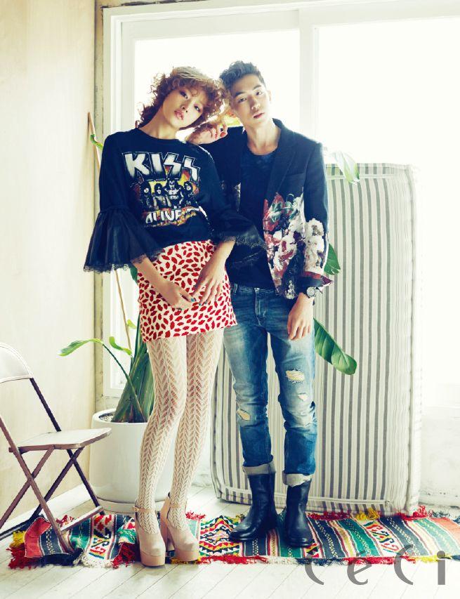 Nam Joo Hyuk and Choi Ara - Ceci Magazine February Issue '14