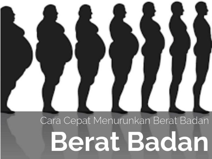Cara mudah dan alami menurunkan berat badan #diet