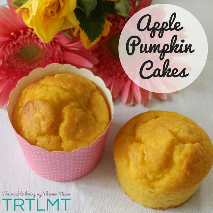These are our new favourite mini cakes. I absolutely adore my Vanilla Bean Cupcakes and how light they are but these Apple Pumpkin have overtaken them