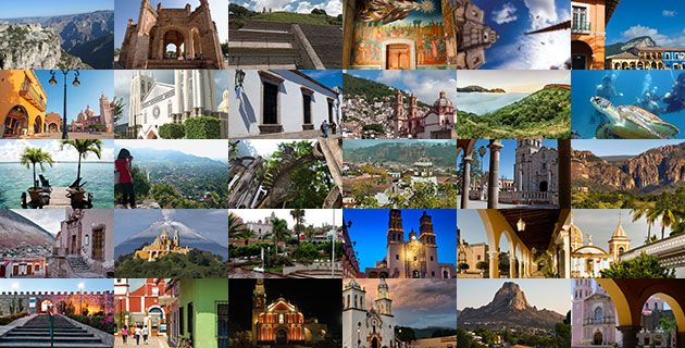 Magical Towns in Mexico