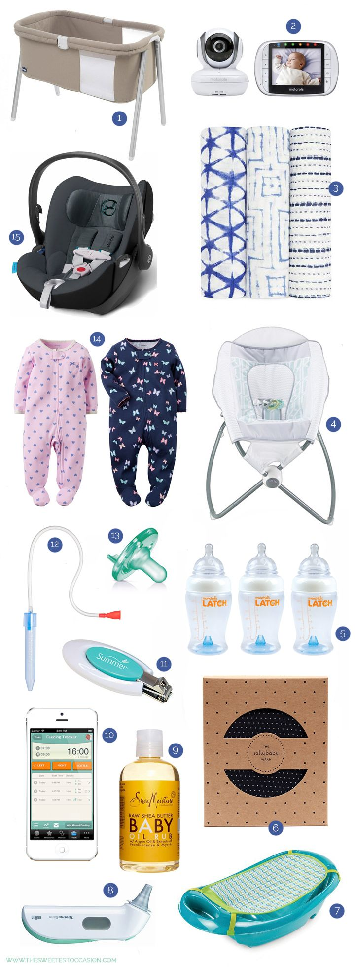 Newborn Baby Essentials   Baby Registry Must-Haves from @cydconverse