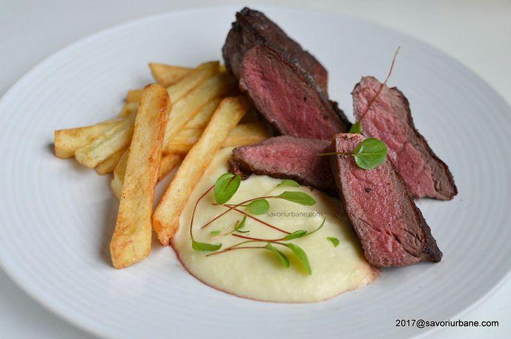 Vrabioara de vita la tigaie sau gratar sirloin steak reteta savori urbane