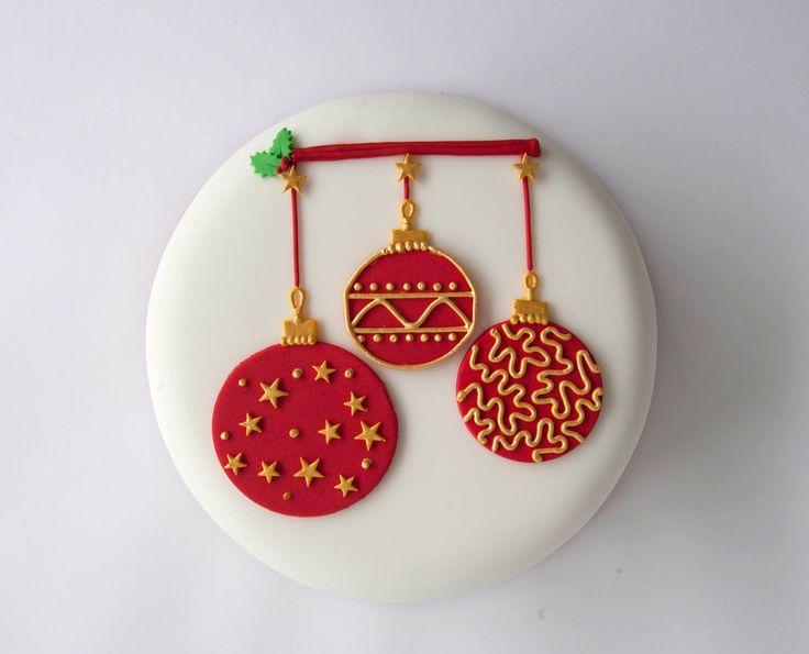 Decorating A Christmas Cake Part - 35: Decoration, Cake Decorating Ideas For Christmas Pink Christmas Decorations:  Creative Christmas Cake Decorating Ideas