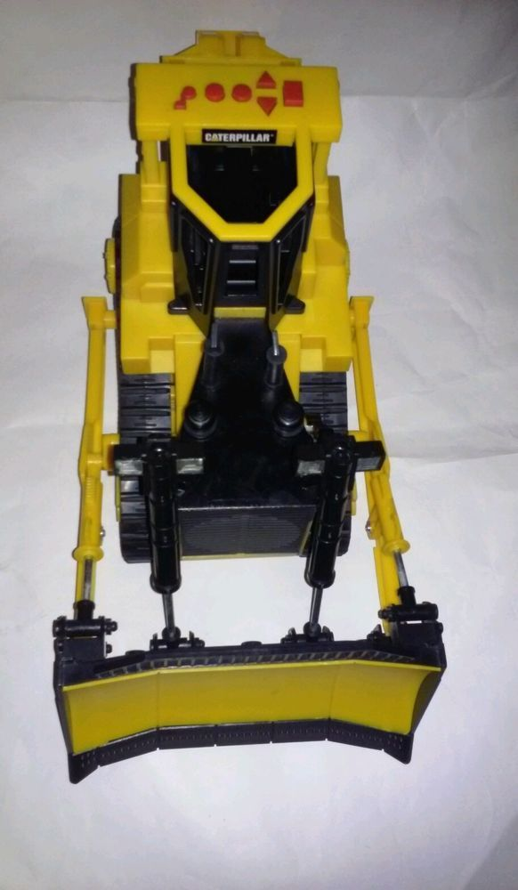 Toy State Caterpillar Construction Bulldozer Backhoe Digger Vehicle See Video #ToyState #Caterpillar
