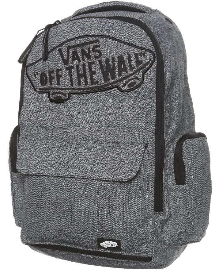 VANS OFF THE WALL MENS WOMENS UNISEX UNDERHILL 2 GRAY BACKPACK LAPTOP PAD   VANS  Backpack