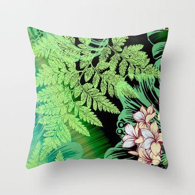 Cool Tranquility Throw Pillow by Vikki Salmela - $20.00 #home #pillow #art…