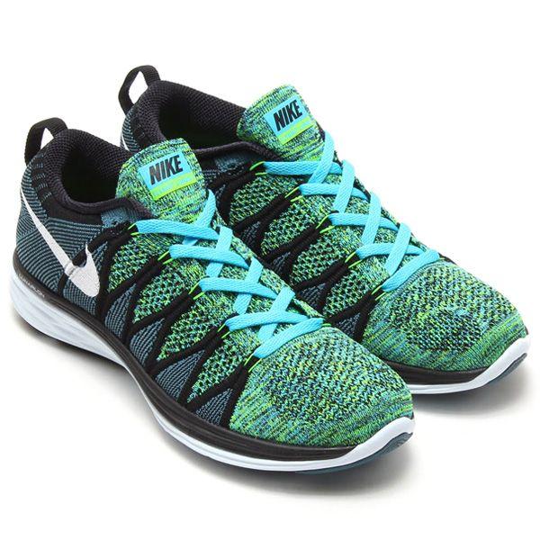 Nike Wmns Flyknit Lunar 2 Chlorine Blue Night Factor O98g3327