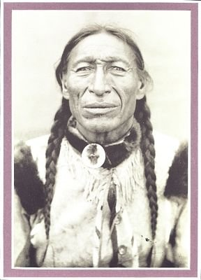 Iron Tail - Oglala - 1914 {Note: Sinte Maza (aka Iron Tail) was an Oglala Lakota man who fought at the Battle of the Little Big Horn in 1876. He also performed with Buffalo Bill's Wild West Show during the 1890's and with the Miller Brothers 101 Ranch Wild West Show near Ponca City, Oklahoma from 1913 to 1916. He died of pneumonia on 28 May 1916 while traveling by train to South Dakota. He was one of three models for the Indian Head Nickel designed by James Earle Fraser.}
