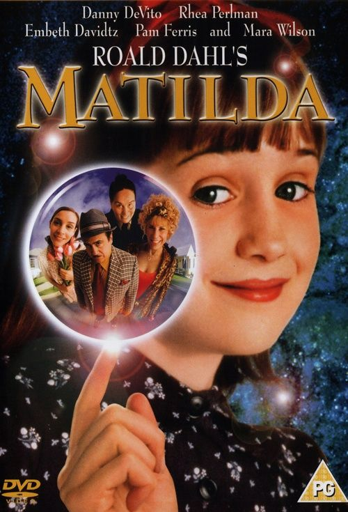 Matilda (1996, Danny DeVito) This film adaptation of a Roald Dahl work tells the story of Matilda Wormwood (Mara Wilson), a gifted girl forced to put up with a crude, distant father (Danny DeVito) and mother (Rhea Perlman). Worse, Agatha Trunchbull (Pam Ferris), the evil principal at Matilda's school, is a terrifyingly strict bully. However, when Matilda realizes she has the power of telekinesis, she begins to defend her friends from Trunchbull's wrath and fight back against her unkind…
