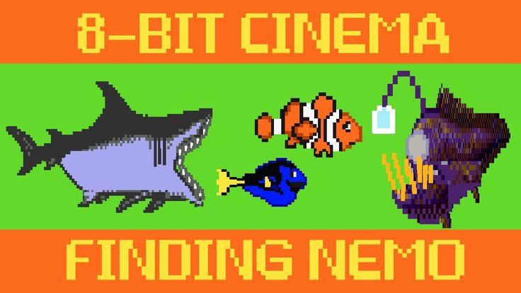 8 Bit Cinema – Finding Nemo Retold in 110 Animated Seconds