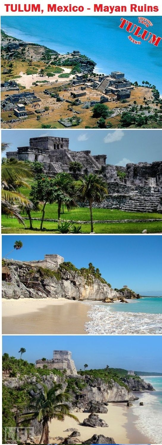 Tulum not far from Puerto Morelos