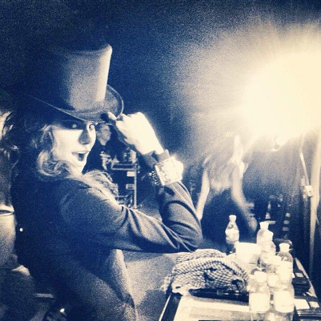 From backstage with love. Odessa, Ukraine. Photo by@universolal#me#melissa#melissamars#mozart#mozartloperarock#mor#concert#backstage#blackandwhite#happy#fun#ukraine#odessa#love#thankyou#hat#hautdeforme#ilovemylife#lifeisbeautiful