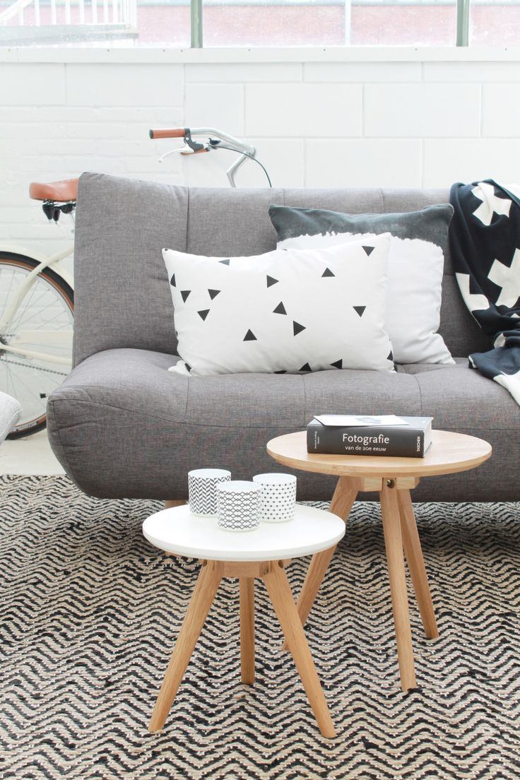 cushions table and rug
