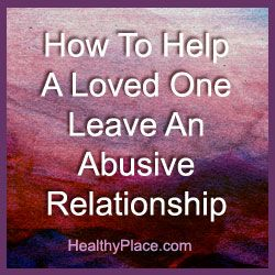 how to leave a verbally abusive relationship