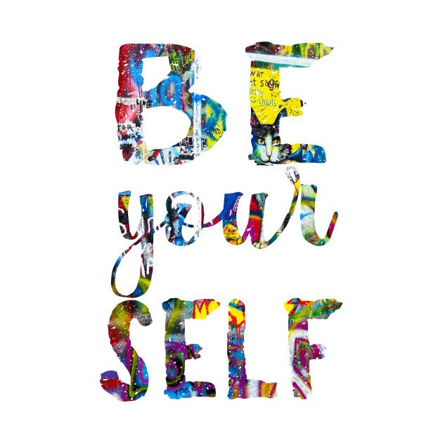 Check out this awesome 'Just+be+Yourself' design on @TeePublic!  #be-yourself #yourself #quote #encouraging #individual #trendy-design #chic #modern #colorful