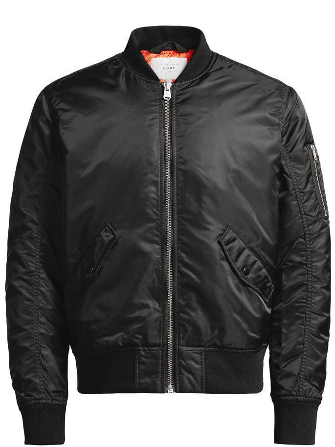 CORE by JACK & JONES - Bomber Jacket, black, regular fit